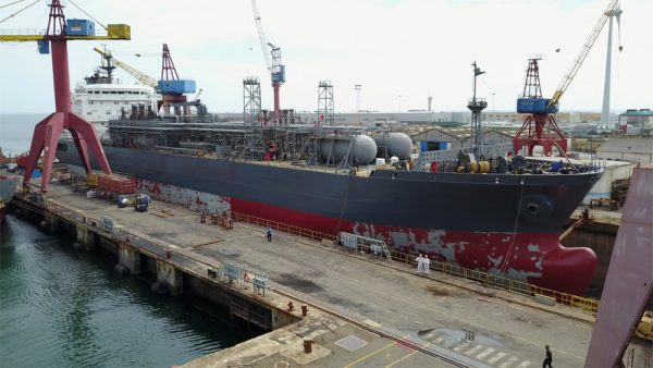 Gas Carrier Cargo Tanks Inspection